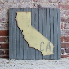 Grace Graffiti Americana California State Wall Décor