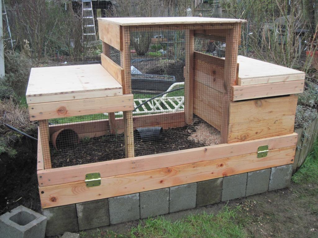 The New Quail Coop Is Finished Quail Coop Quail House Quail Diy backyard quail coop