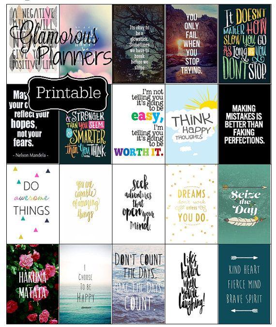 Motivational Happy Planner Sticker Inspire Stickers Quotes Ec