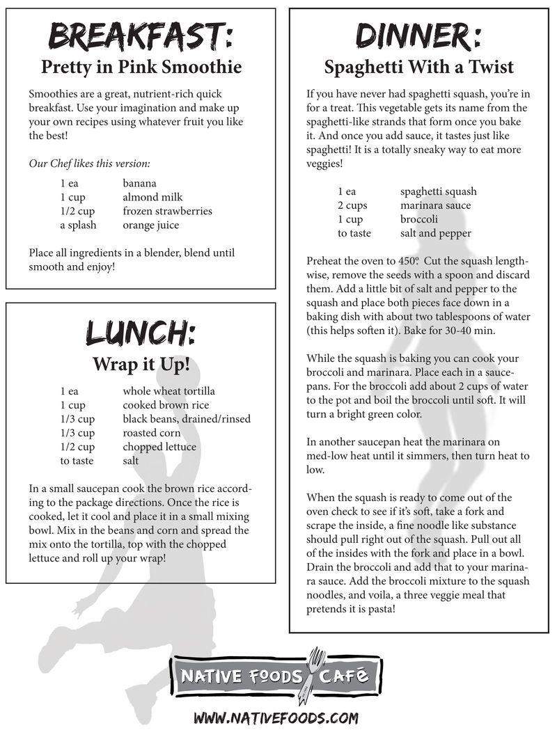 NATIVE FOODS RESTAURANT (VEGAN). Breakfast, lunch & dinner