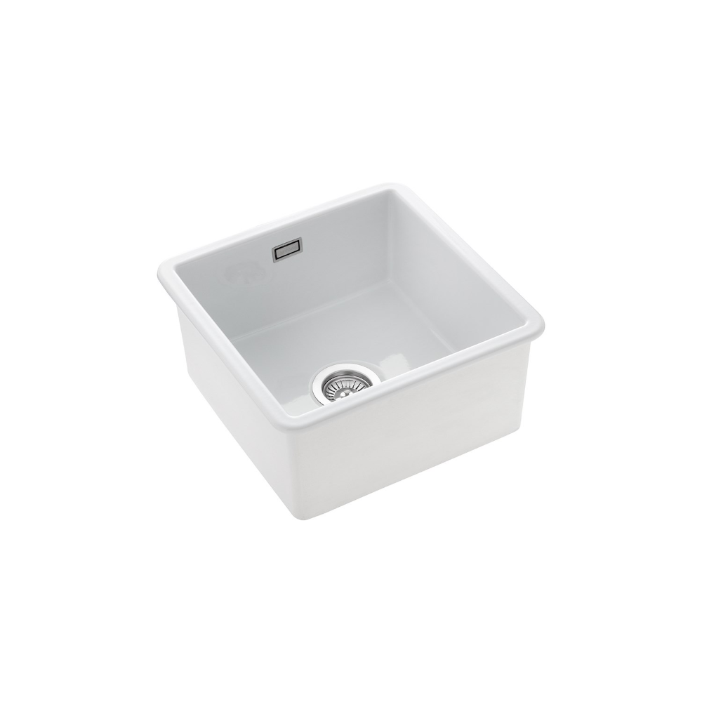 Rangemaster Rustique 1 Bowl Inset Undermount Fireclay White Ceramic Kitchen Sink Waste Kit In 2020 Ceramic Kitchen Sinks White Ceramic Kitchen Sink Ceramic Kitchen