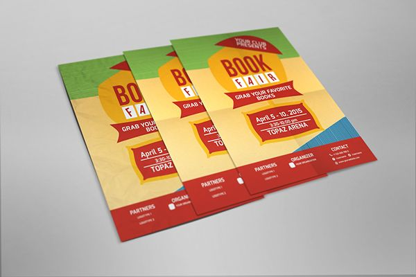 Book Fair Flyer on Behance