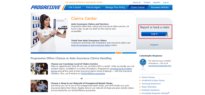 Progressive Auto Insurance File A Claim Ten Things You