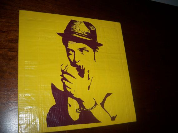 Bruno Mars Duct Tape Art - DuctYourself