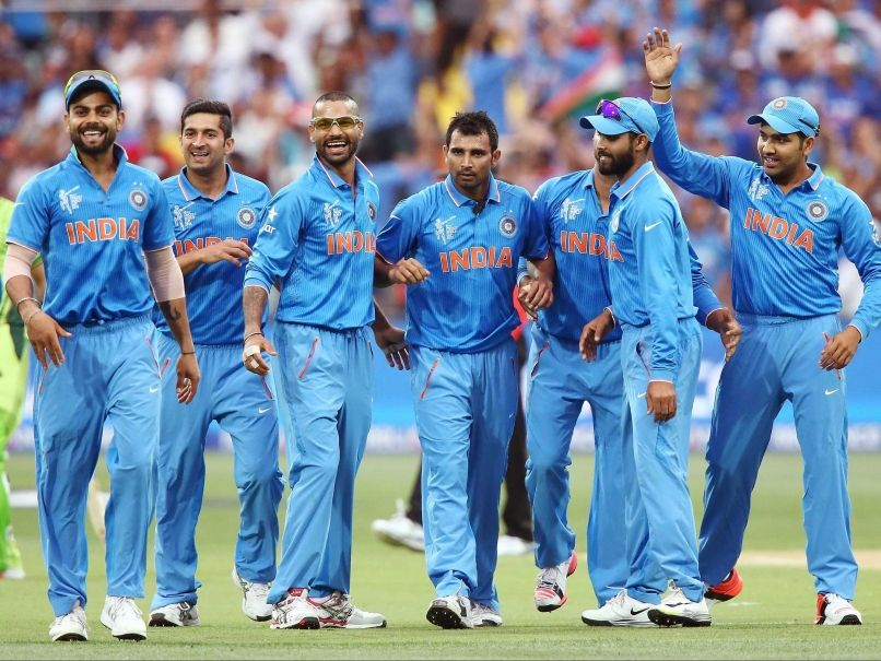 Image result for Indian cricket team arrives in Cardiff, Wales
