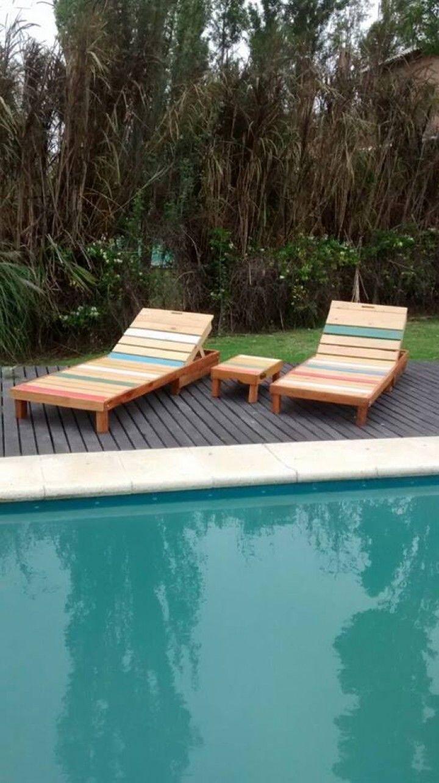 Encontrá Reposera de madera reciclada desde $2000. Muebles, Jardín y ...