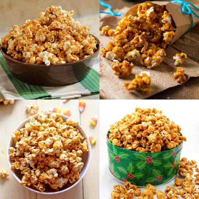 طريقة عمل الفشار بالكراميل عالم الطبخ والجمال Caramel Popcorn Recipes Foodie