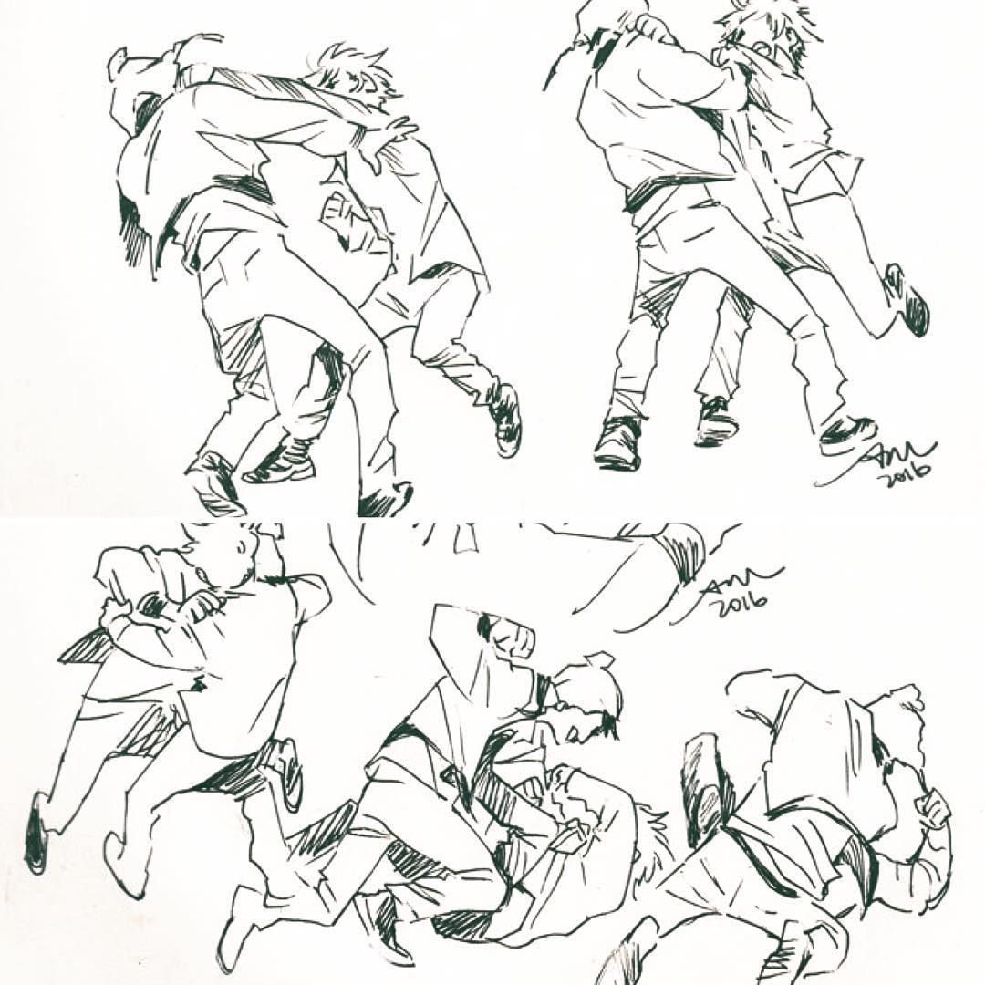 Pin By Honey Badger On Art I Like In 2020 Fighting Poses Poses Drawing People