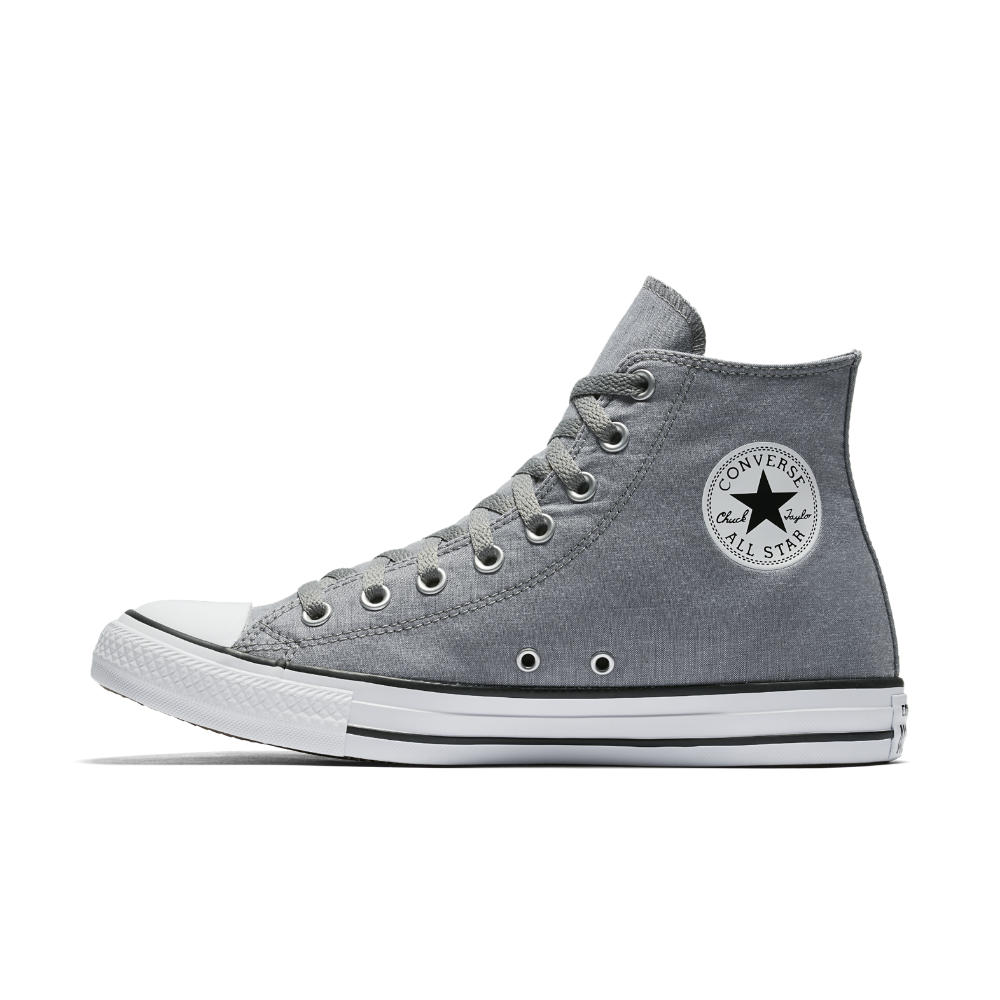 Converse Chuck Taylor All Star Washed Chambray High Top Shoe