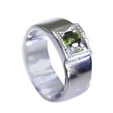superb Tourmaline Silver Multi Ring jaipur L-1in US 5678