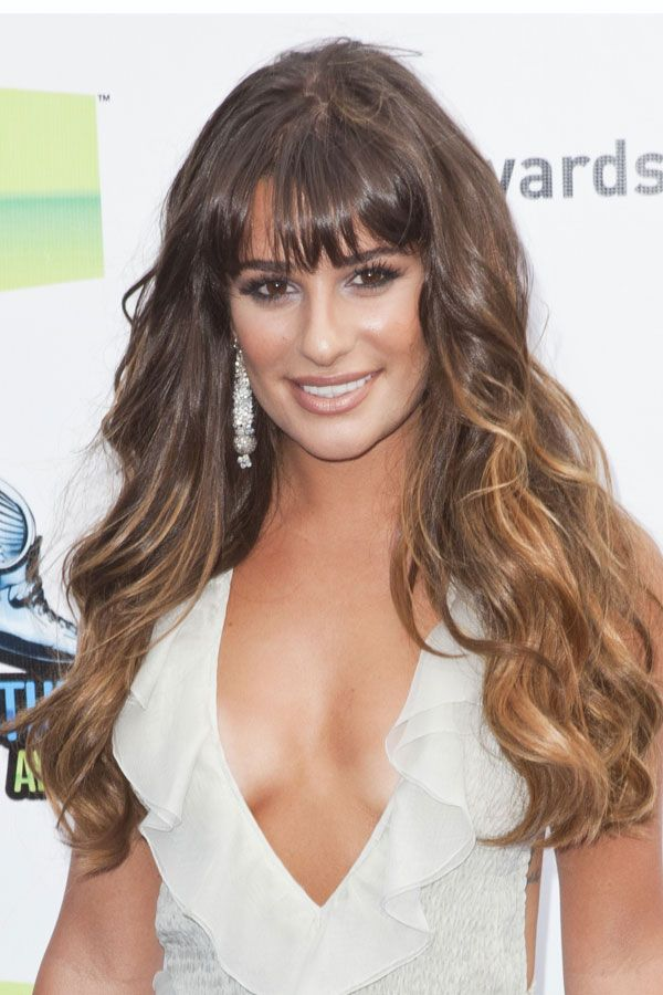 How To Create Lea Micheles Voluminous Waves At Home Lea Michele