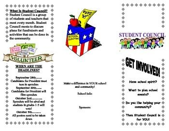 Sample Flyers For School Election Elementary