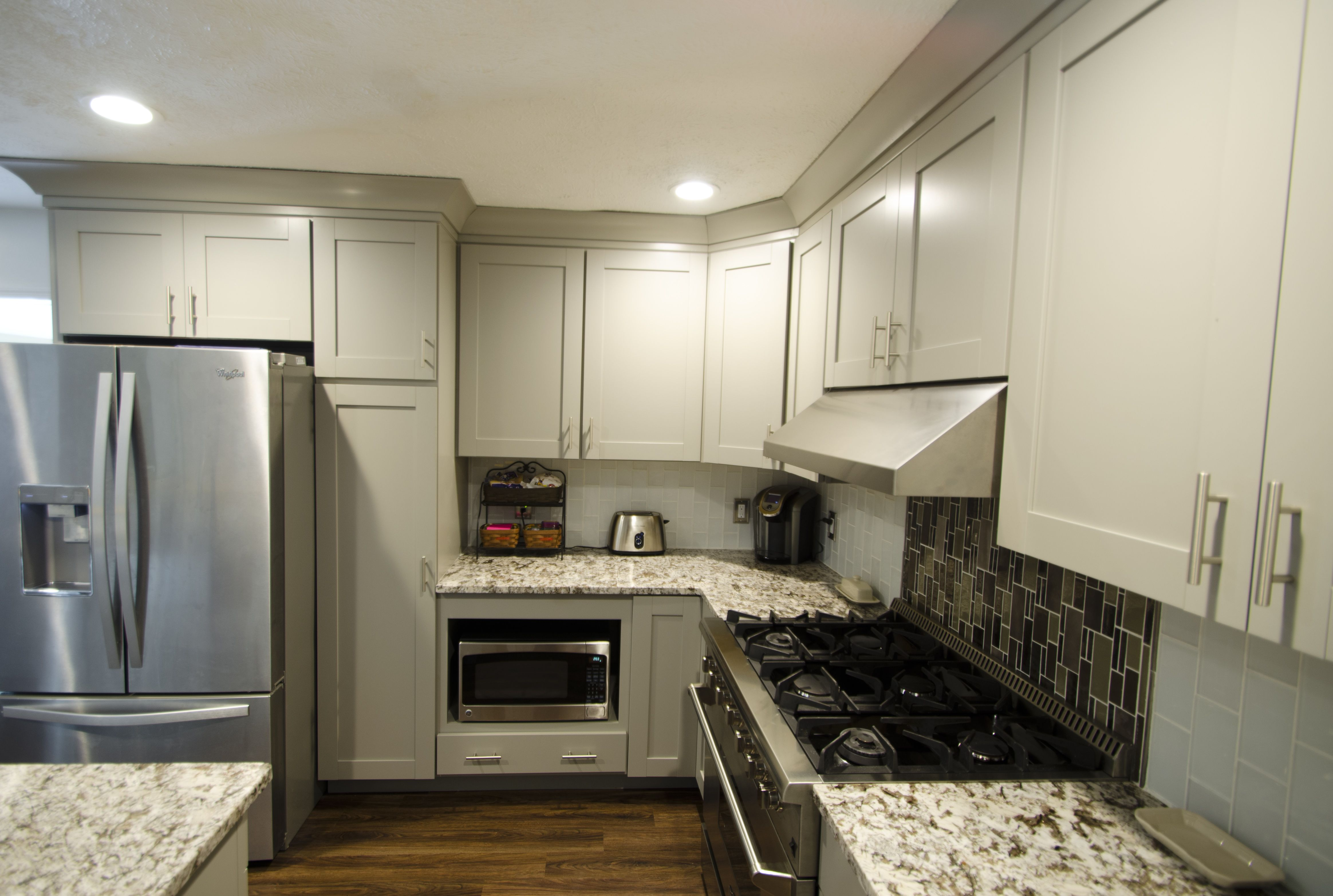 This fresh diamond kitchen remodel was completed by lowes project specialist of interiors marcus lehman