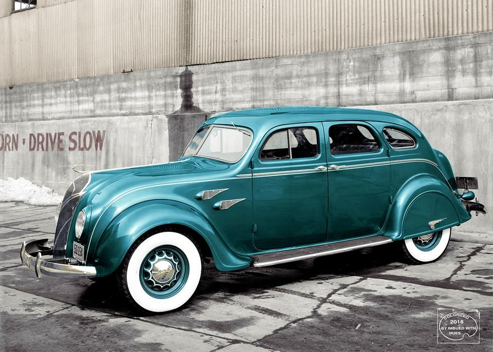 1936 Desoto Airflow Sedan Imbued With Hues Desoto Cars
