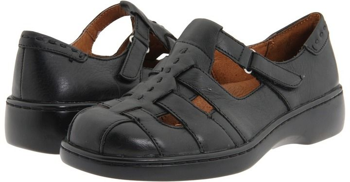 Sports Shoes Womens Shoes Naturalizer Mozart Black Leather