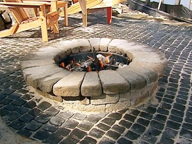 Here are the step-by-step instructions for building a fire ...