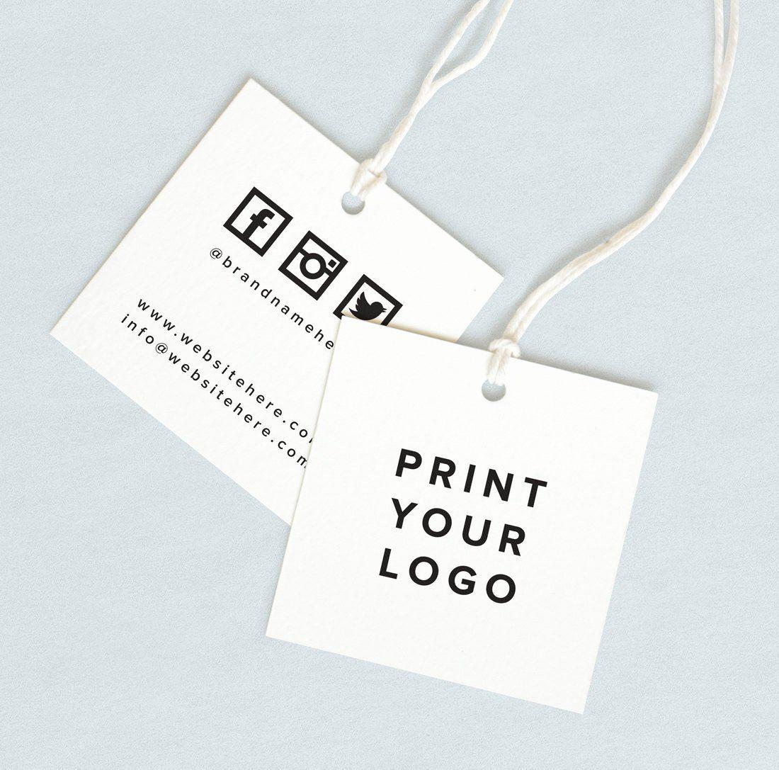Clothing Label Template Inspirational 53 Label Design Templates Clothing Packaging Custom Clothing Labels Hang Tag Design