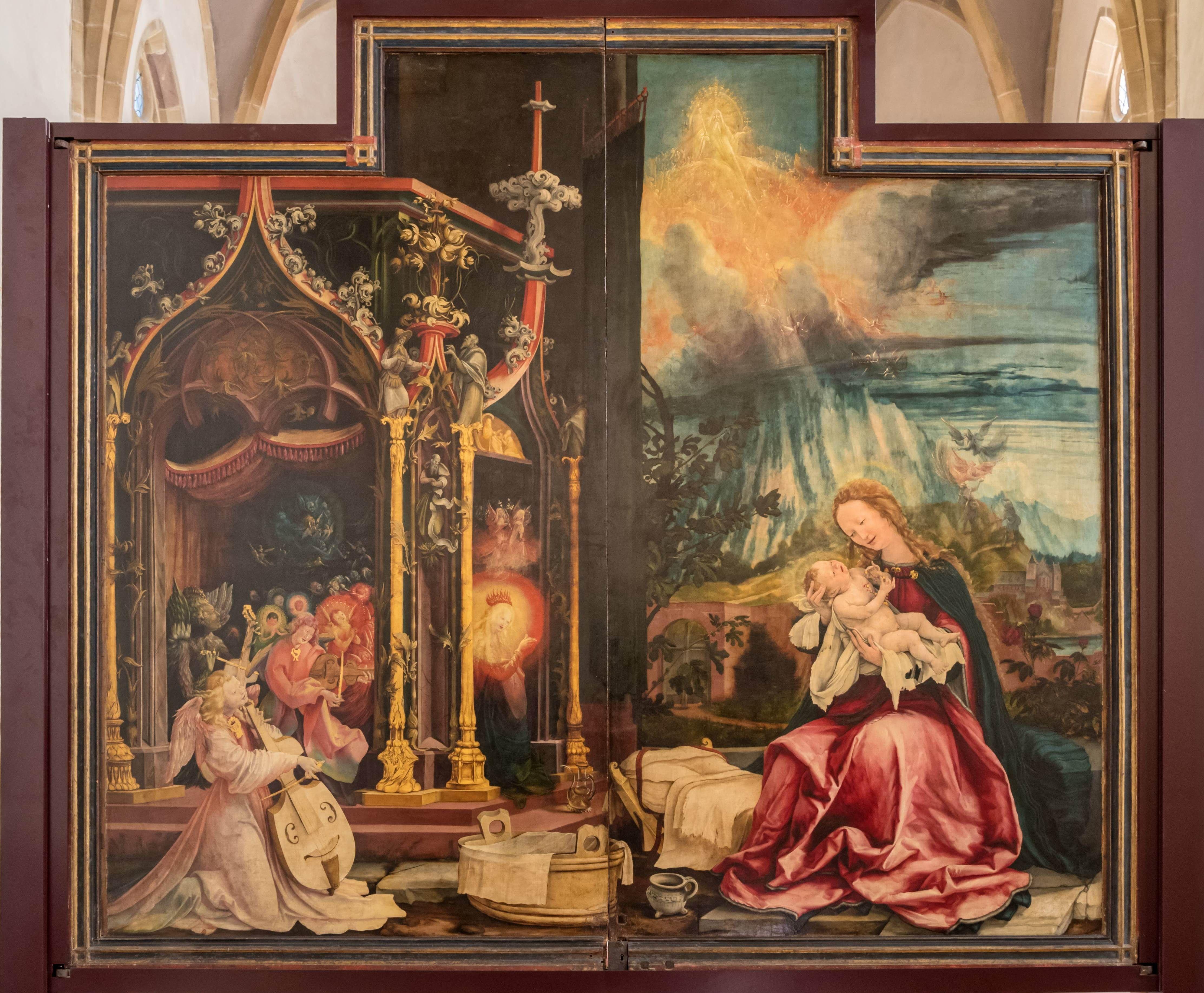 isenheimer altar in colmar