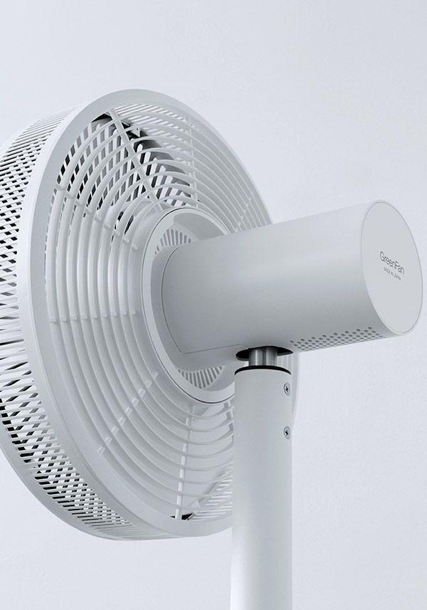 バルミューダ Greenfan Japan グリーンファンジャパン 日本の扇風機 扇風機 デザイン 日本