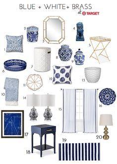Blue White Br