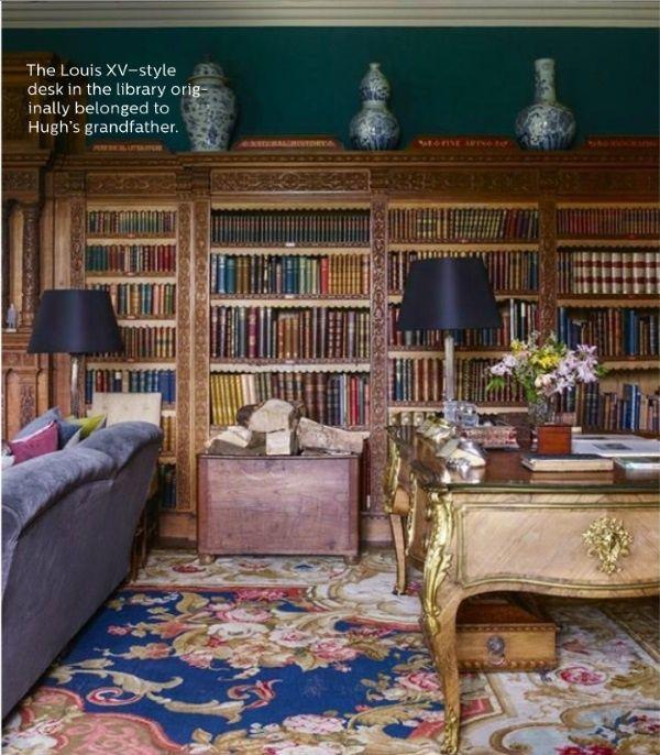 Elle Decor's 5 Best Rooms With Designer Rugs In December