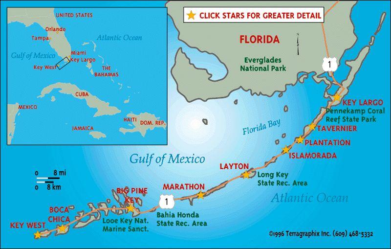 Florida Reefs And Bays Sepm Strata Florida Keys Map Florida Keys Resorts Florida Vacation