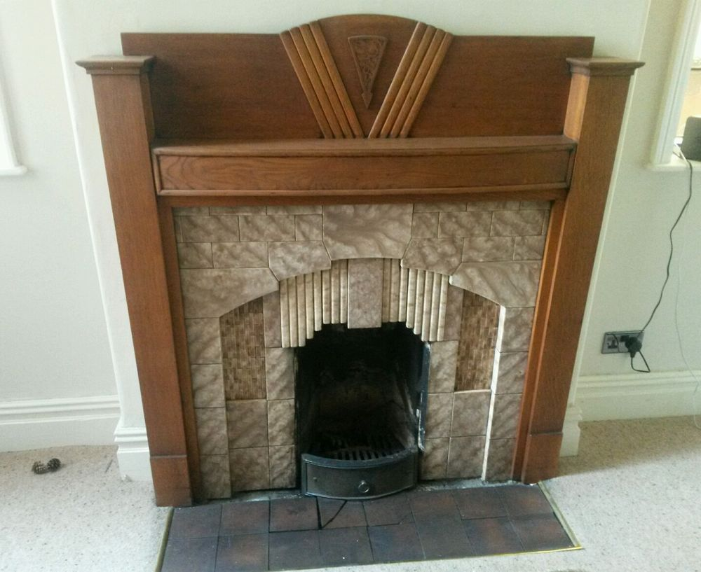 Art Deco Hearth Tiles Tile Design Ideas