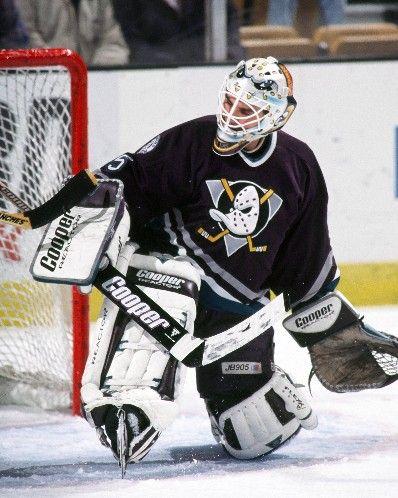 Anaheim Ducks Hockey Goalie Anaheim Ducks Goalie