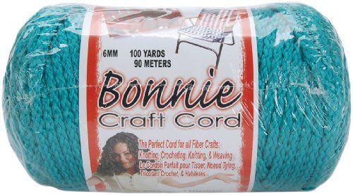 Pepperell 6mm Bonnie Macramé Craft Cord, 100-Yard, Turquo... http://www.amazon.com/dp/B003W0G82Y/ref=cm_sw_r_pi_dp_Msmrxb0AFFKCG