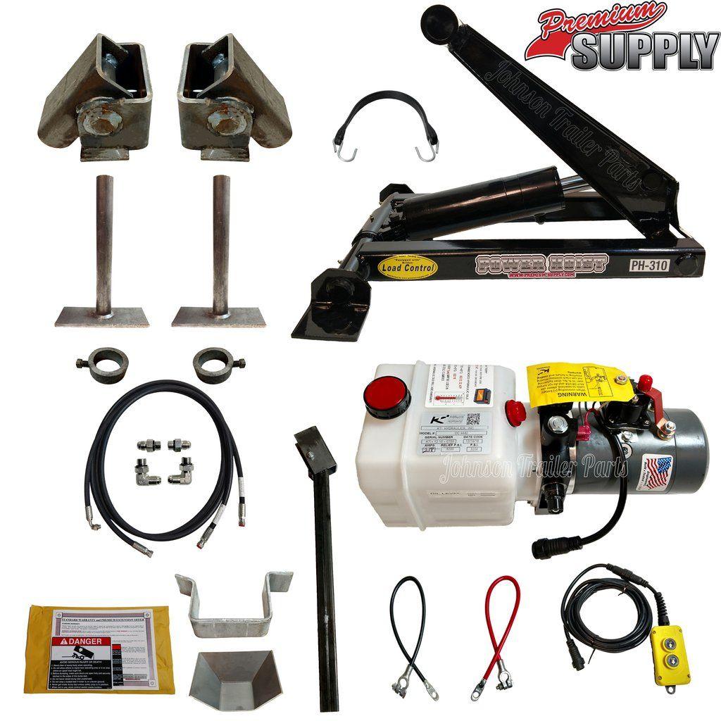 3 Ton (6,000 lb) Hydraulic Scissor Hoist Kit PH310