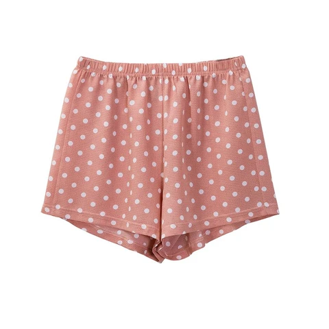 fashion floral chiffon shorts