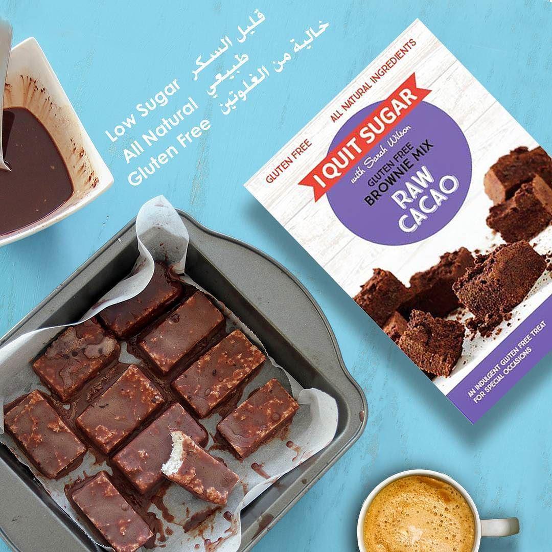 اي كوييت شوغر خليط براوني طبيعي خالية من الغلوتين وقليلة السكر متوفرة سيفكو منتجات سيفكو الخالية من الغلوتين I Quit Sugar Glu Gluten Free Mix Raw Cacao Food