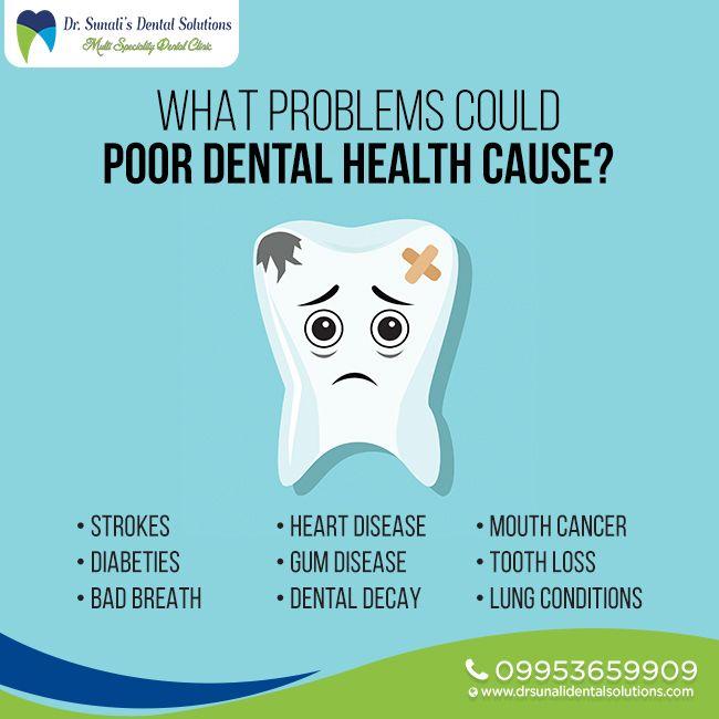 Welche Probleme können schlechte Zahngesundheit verursachen? #DentalProblems #DentalDecay #Mouth …   – Plymouth Dental