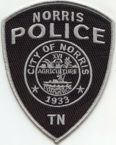 Norris Tennessee Police Patch Police Patches Police Norris