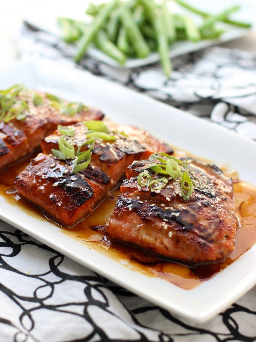 Miso Soy Glazed Salmon Recipe Salmon recipes