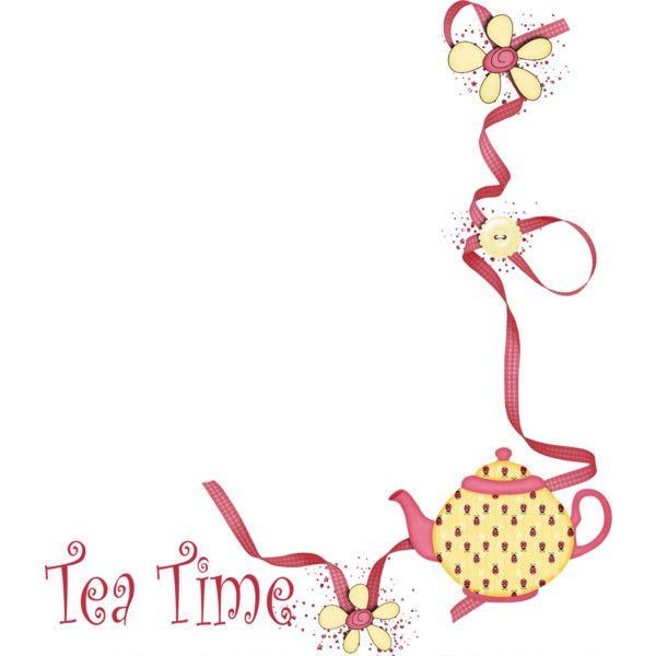 Teatime Png Tea Party Party Background Tea Time