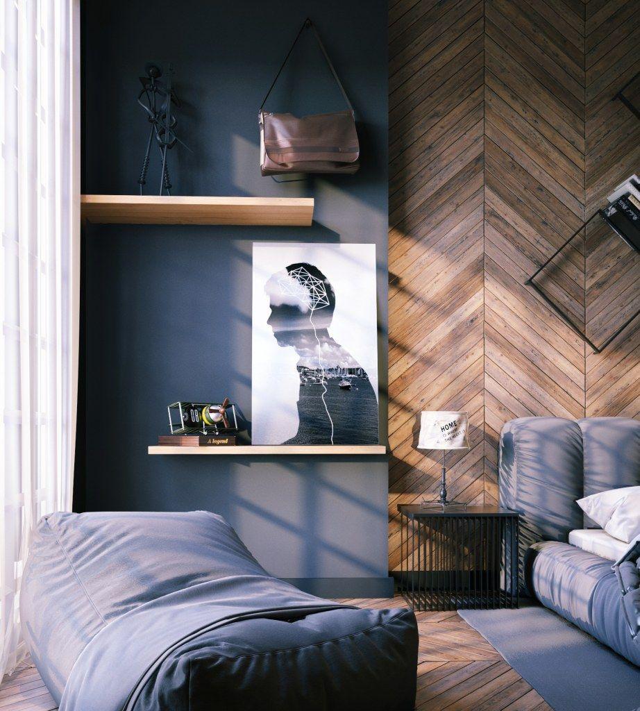 young mans bedroom bedroom interior