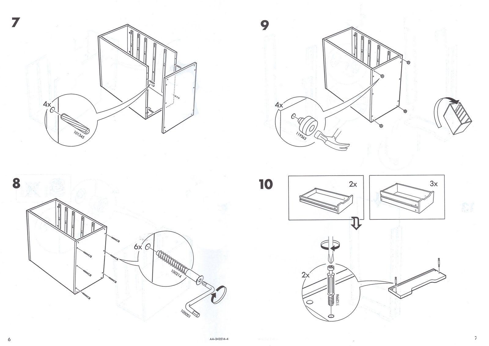 Ikea Instruction Details Instructions Manual Ikea