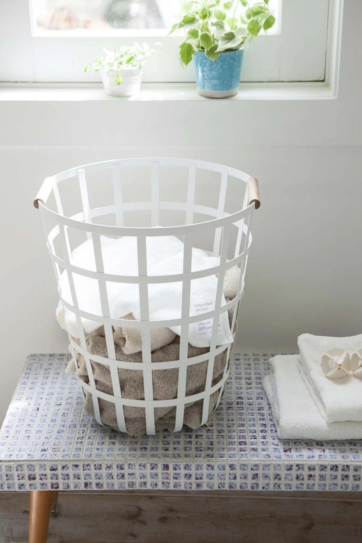 Round Laundry Basket In 2020 Laundry Basket Laundry Hamper Basket