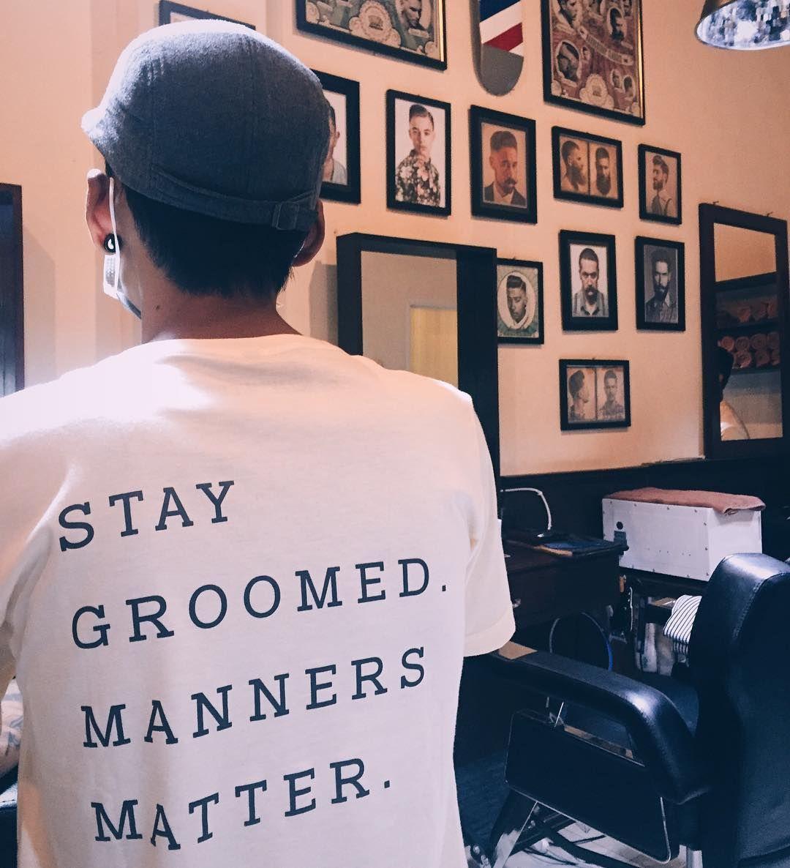 Stay Groomed Manners Matter. #woodsbarbershop #barbershop #barberlife #mensgrooming #menshaircut #menshairstyle #supportlocalbarber by woodsbarbershop