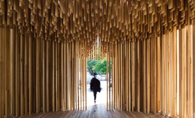 ICON MAGAZINE ONLINE | David Adjaye, Pavilion on the South Bank, London (2008)