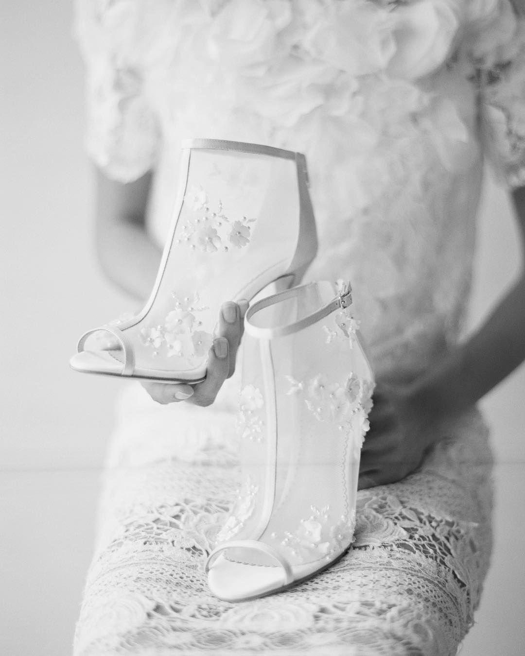 "Bella Belle Shoes (@bellabelleshoes) på Instagram: ""Our @joyproctor for @bellabelleshoes Belle booties captured in B&W by @elizabethmessina is 👌 Gown…"""