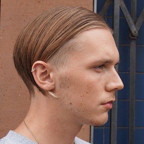 Medium Length Undercut Hairstyle For Guys
