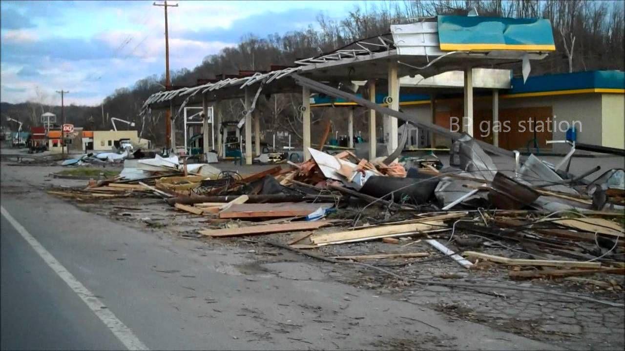 Salyersville Ky Tornado Damage Tornado Damage Tornado Hometown