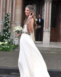 boho wedding dress | Casarei