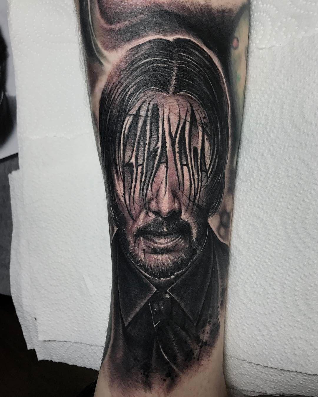 Tatuajes De John Wick: John Wick / Baba Yaga By Anrijs Straume (@ Anrijsstraume