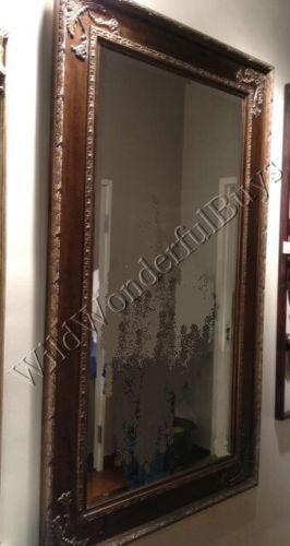 Ornate-Wood-Floor-Mirror-Corner-Leaf-Details-Large-Tuscan-Rectangle ...