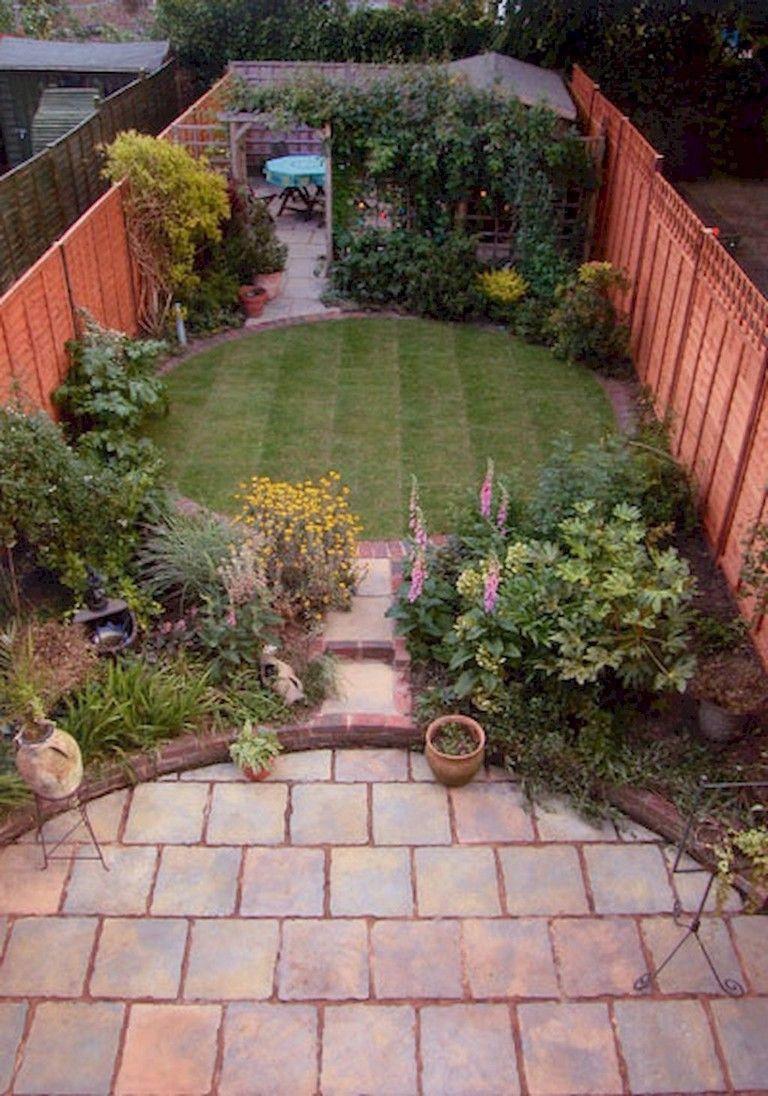 70 Brilliant Low Maintenance Front Yard Landscaping Ideas Large Backyard Landscaping Backyard Garden Landscape Backyard Garden Design