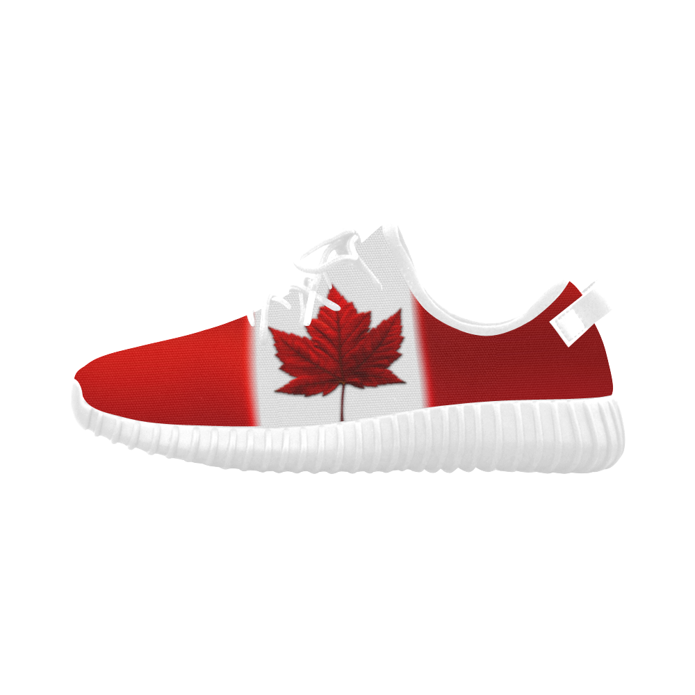 Maple Leaf Men Knit Running Shoes Sneakers