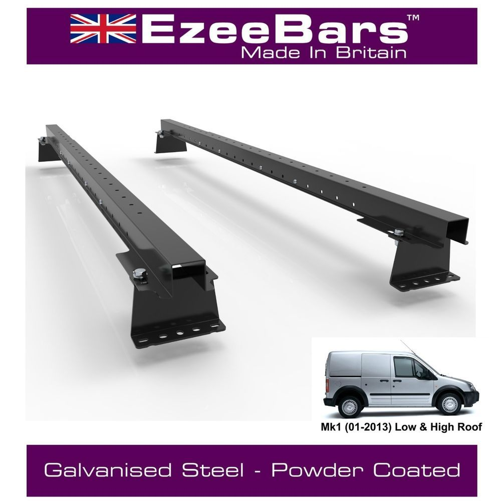 Details about Transit Connect EasyBars Strong Roof Rack